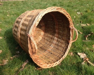 Log Basket Inspired by Eddie